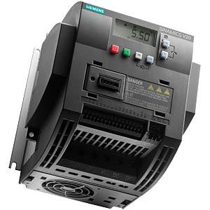 Sinamics V20 converter, 0.37kW, 2.3A SIEMENS 6SL32105BB137AV0