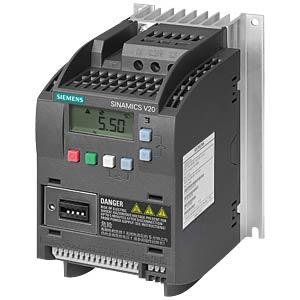 Sinamics V20 converter, 0.75kW, 2.2A SIEMENS 6SL3210-5BE17-5CV0