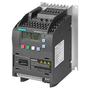 Sinamics V20 converter, 0.75kW, 4.2A SIEMENS 6SL32105BB180AV0