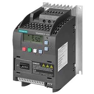 Sinamics V20 Umrichter, 0,75 kW, 4,2 A SIEMENS 6SL32105BB180AV0