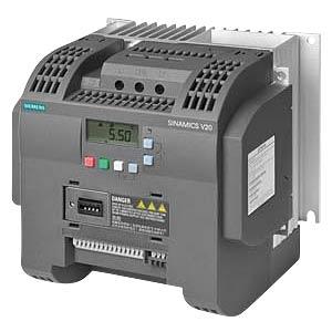 Sinamics V20 converter, 3.00kW, 13.6A SIEMENS 6SL32105BB230AV0