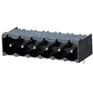 socket board, solderable, 3-pole, RM 5,00 RIA CONNECT 31176103