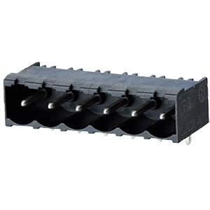 socket board, solderable, 4-pole, RM 5,00 RIA CONNECT 31176104