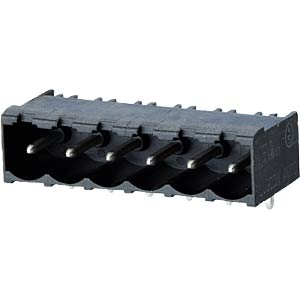 socket board, solderable, 5-pole, RM 5,00 RIA CONNECT 31176105