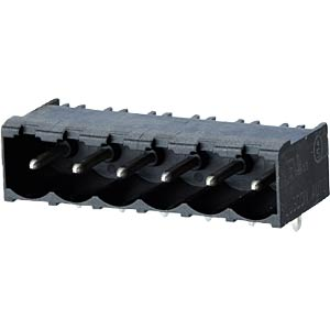 socket board, solderable, 6-pole, RM 5,00 RIA CONNECT 31176106