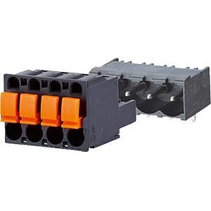 Federkraftklemme, steckbar, 3-pol, RM 5,00 RIA CONNECT SP06503VBPC