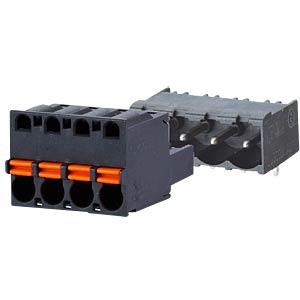 spring terminal, plug, 5-pole, RM 5,00 RIA CONNECT SP06505VBNC