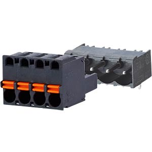 spring terminal, plug, 6-pole, RM 5,00 RIA CONNECT SP06506VBNC