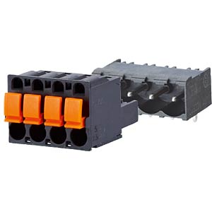 spring terminal, plug, 6-pole, RM 5,00 RIA CONNECT SP06506VBPC