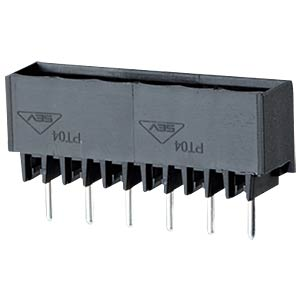 Pin header, 12-pin, spacing: 5.0, straight, solderable