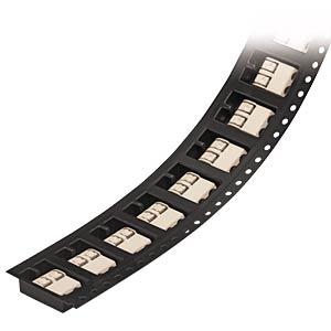 SMD-Leiterplattenklemme, RM 4 mm, 1-pol, weiß WAGO 2060-451/998-404