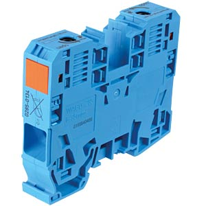 Feed-through terminal, 2-conductor, 35 mm², blue WAGO 285-134