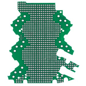 Lochrasterplatine 3-2-AE, 0-2-BS WAGO 2857-192/3140-000