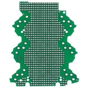 Lochrasterplatine 3-3-AE, 0-0-BS WAGO 2857-193/3140-000
