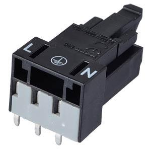 Mini PCB Buchse, für Leiterplatten, 3-pol, gew. WAGO 890-803/011-000