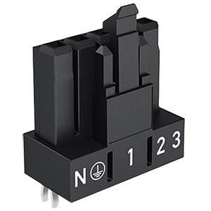Mini PCB Buchse, für Leiterplatten, 5-pol, gerade WAGO 890-805