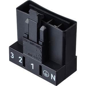 Mini PCB plug, for perfboard, straight, 5-pole WAGO 890-815