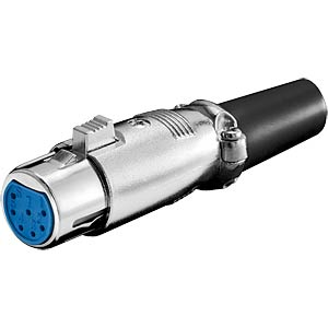 XLR - 7-pin - coupler FREI