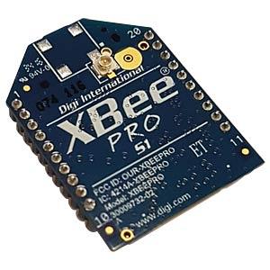 XBee-PRO 802.15.4, 63mW, U.FL RF connector DIGI INTERNATIONAL XBP24-AUI-001
