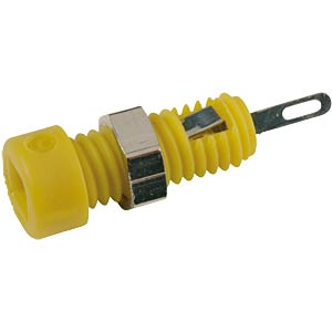 2.0-mm miniature socket, yellow HIRSCHMANN TEST & MEASUREMENT 930308103