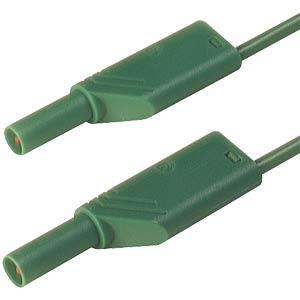 4,0mm Sicherheits-Messleitung MLS WS200 grün HIRSCHMANN TEST & MEASUREMENT 934069104