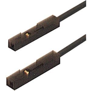 Adapterleitung, MKL 0,64/25-0,25, schwarz HIRSCHMANN TEST & MEASUREMENT 973604100