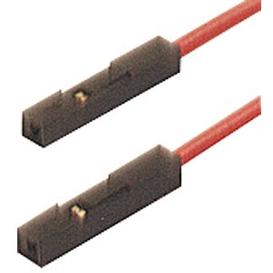 Adapter cable, MKL 0.64/25­0.25, red HIRSCHMANN TEST & MEASUREMENT 973604101
