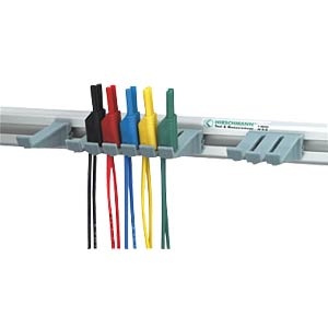 2-mm safety kit with 10 test leads and bracket HIRSCHMANN TEST & MEASUREMENT 975604001