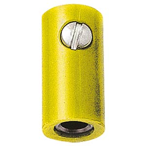 Miniature coupling, 2.6mm, yellow FREI