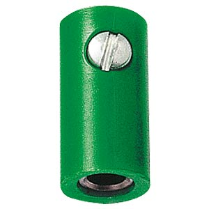 Miniature coupling, 2.6mm, green FREI