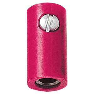 Miniature coupling, 2.6mm, red FREI