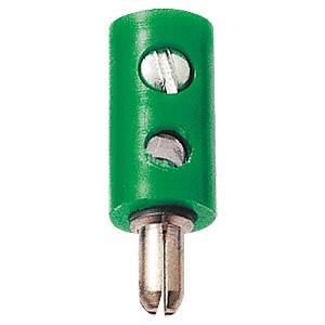 Zwerg-Stecker, 2,6mm, grün FREI