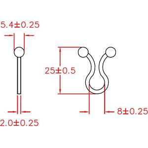 Kabeldriller 7-10mm verpakking van 100 RND CABLE RND 475-00426