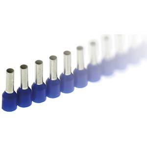 Ferrules - Stripe, 0,75 mm², blue FREI