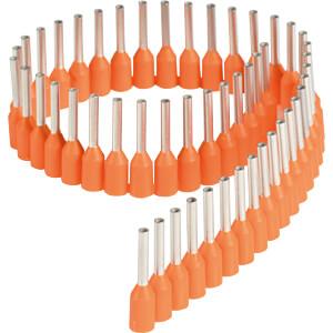 Adereindhulzen - strips, 0,5 mm², oranje FREI
