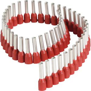 Aderendhülsen - Streifen, 1,5 mm², rot FREI