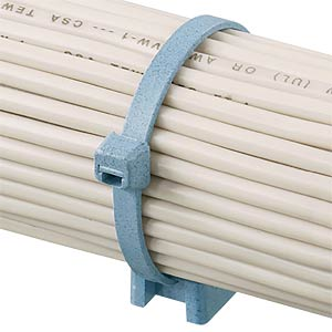 Kabelbinder, detektierbar, 186 mm, blau PANDUIT PLT2S-C86
