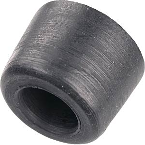 Screw buffer, black, Ø22, 0 x 11.0 mm PB-ELEKTRO 1744-01