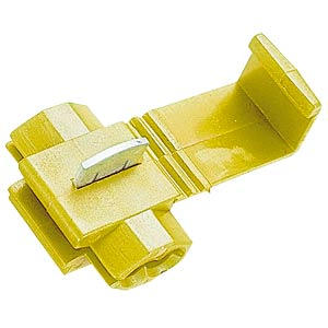 Wire distributor, 4.0 - 6.0 mm², yellow FREI