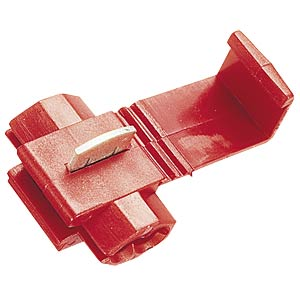 Wire distributor, 0.5 - 1.5 mm², red FREI
