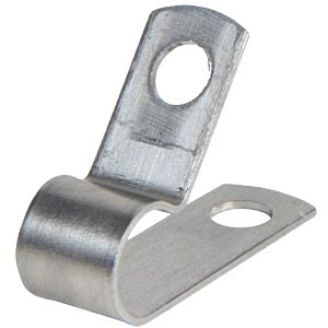 Cable clamp, aluminium, ø 7,9 mm PB-ELEKTRO AL-5