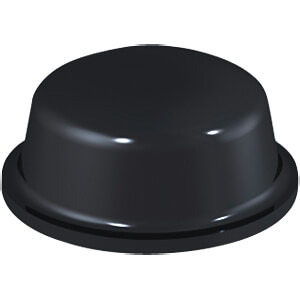 Stoßfänger, selbstklebend, Ø 11,1 mm, schwarz RND COMPONENTS RND 455-00496