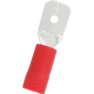 Blade terminal red 4.8x0.5mm RND CONNECT RND 465-00008