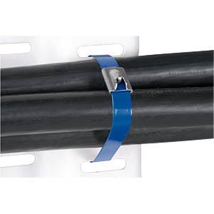 Edelstahlkabelbinder, 201 x 51 mm, blau, 1er-Pack PANDUIT MLTFC2H-LP316BU