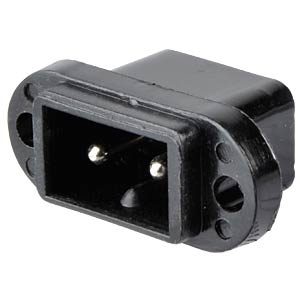 Mains power cable panel connector, Japanese Design FREI
