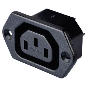 Fitted socket for non-heating appliances, horizontal mount FREI SE-KB 01