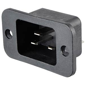 Appliance plug up to 16 A, screw mount SCHURTER 4798.9000