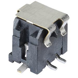 Molex Stiftleiste SMD - Micro-Fit - 2x2-polig - Stecker MOLEX 43045-0418
