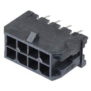 Molex Stiftleiste - Micro-Fit - 2x4-polig - Stecker MOLEX 43045-0812