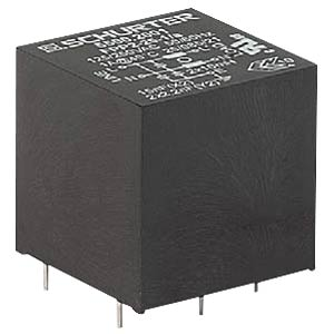 AC filter for PCB mounting, 0.6A SCHURTER 5500.2000